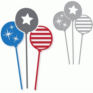 stars & stripes balloons