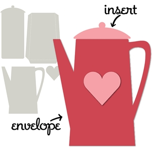 card kit teapot