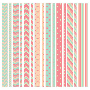 green-apricot washi strips