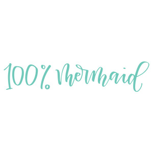 100% mermaid