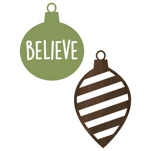 believe ornaments