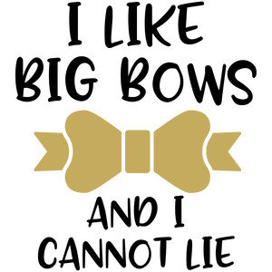 baby t-shirt: i like big bows