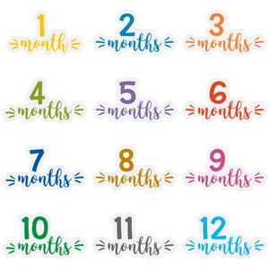 baby months 1- 12