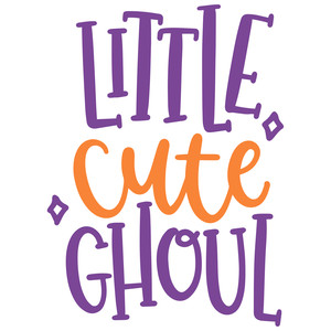 little cute ghoul