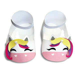 cute unicorn baby shoes