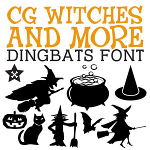 cg witches and more dingbats