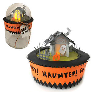 3d tiny haunted house