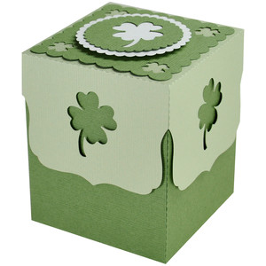 4 leaf clover gift box