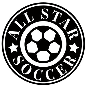 all star soccer label