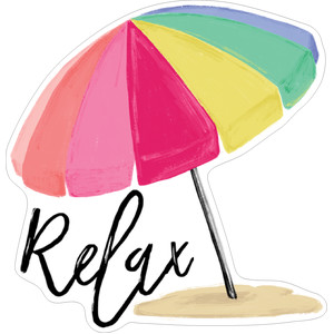 relax beach umbrella