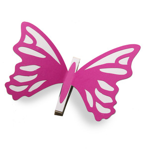 shapely coloring butterfly clothes pin