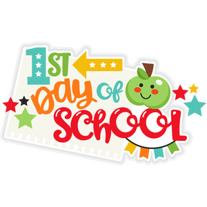 1st day of school title