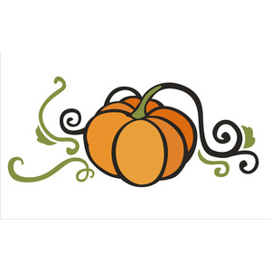 pumpkin flourish