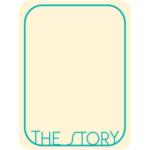 the story journaling card