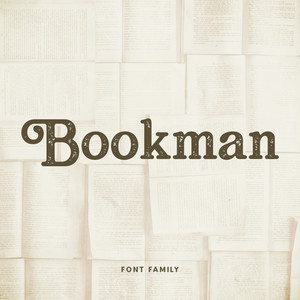 bookman font family