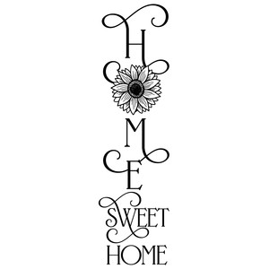 sunflower home sweet home