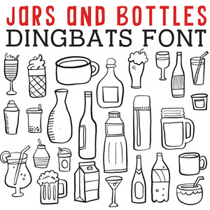 cg jars and bottles dingbats