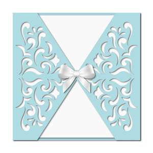 decorative gatefold card