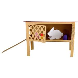 easter bunny rabbit hutch