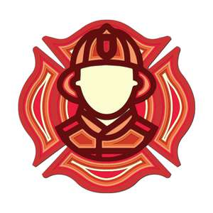 multi layer mandala firefighter
