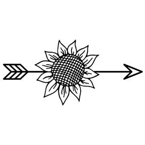 sunflower arrow