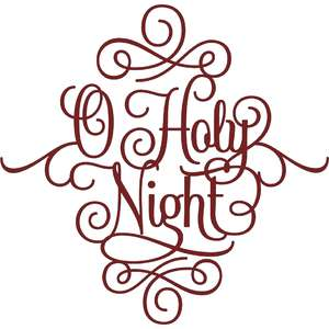 o holy night christmas script