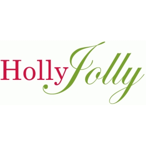 holly jolly phrase / title / sentiment