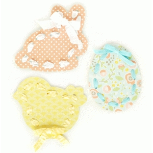 easter lace-up cards