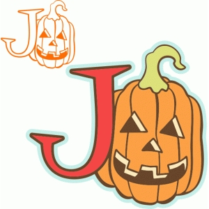 'j' is for jack-o-lantern (samantha walker)
