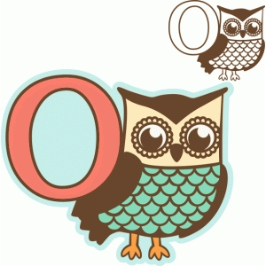 'o' is for owl