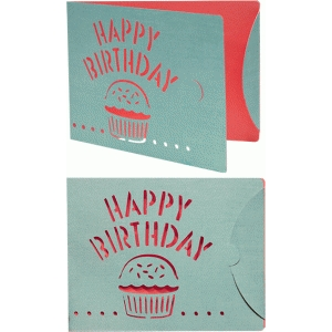 card birthday flap closure