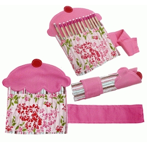 cupcake fabric pencil case