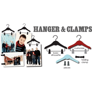pant hanger & clamps