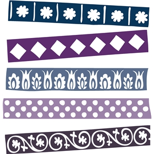 ribbon borders