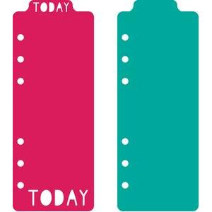 personal planner top tab bookmarks