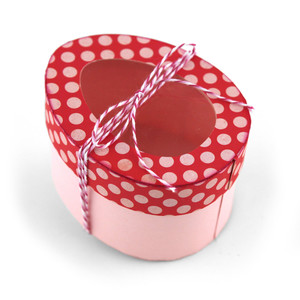 3d easter egg shaped box