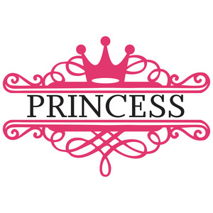 princess monogram