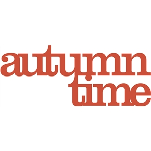 'autumn time' phrase