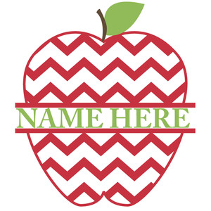 split apple chevron title