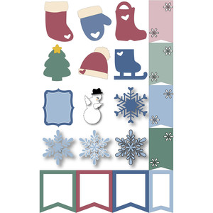 holiday planner stickers