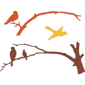 bird branch sets