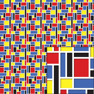 graphic rectangle pattern