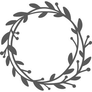 leaf foliage wreath