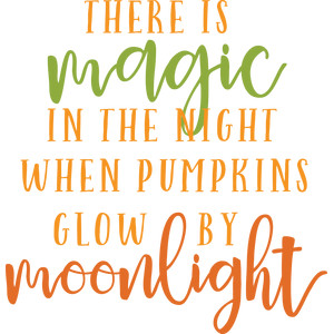 magic in the night phrase