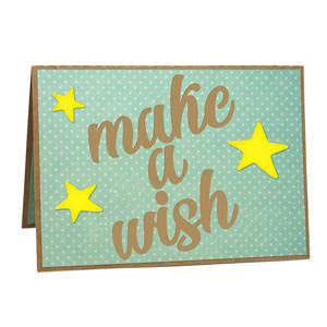 a2 make a wish pop-up card