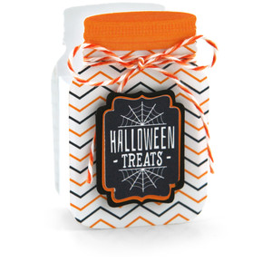 mason jar treat box halloween treats