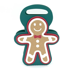 christmas gingerbread man box