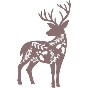 winter foliage deer