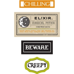 echo park halloween labels