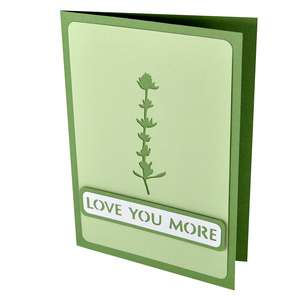 thyme love you more stencil card